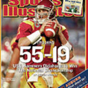 University Of Southern California 2004 Bcs National Sports Illustrated Cover Art Print