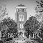 University Of Southern California Admin Building Art Print