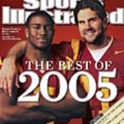 University Of Southern California Qb Matt Leinart And Sports Illustrated Cover Art Print