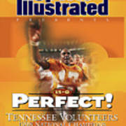 University Of Tennessee, 1998 Ncaa National Champions Sports Illustrated Cover Art Print
