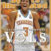 University Of Tennessee Candace Parker, 2007 Ncaa National Sports Illustrated Cover Art Print
