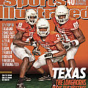University Of Texas, 2010 College Football Preview Issue Sports Illustrated Cover Art Print