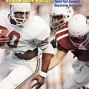 University Of Texas Earl Campbell Sports Illustrated Cover Art Print