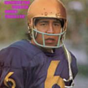 University Of Washington Qb Sonny Sixkiller Sports Illustrated Cover Art Print