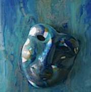 Shades Of Blue Sold Art Print