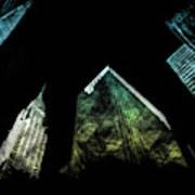 Urban Grunge Collection Set - 02 Art Print