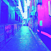 Urban Neon Art Print
