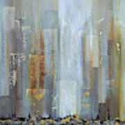Urban Reflections I Night Version Art Print