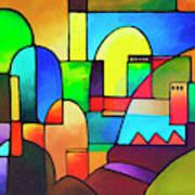 Urbanity 2 Art Print
