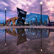 Us Bank Stadium In Minneapolis Art Print