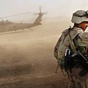 Us Soldiers On Special Operations In Art Print