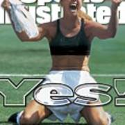 Usa Brandi Chastain, 1999 Womens World Cup Final Sports Illustrated Cover Art Print