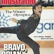 Usa Brian Boitano, 1988 Winter Olympics Sports Illustrated Cover Art Print