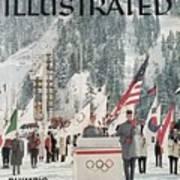 Usa Carol Heiss, 1960 Winter Olympics Sports Illustrated Cover Art Print