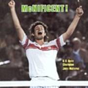 Usa John Mcenroe, 1980 Us Open Sports Illustrated Cover Art Print