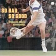 Usa John Mcenroe, 1981 Wimbledon Sports Illustrated Cover Art Print