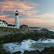 Usa, Maine, Cape Elizabeth, Portland Art Print