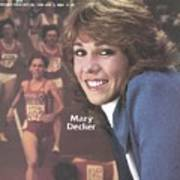 Usa Mary Decker, 1983 Sportswoman Of The Year Sports Illustrated Cover Art Print
