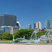 Usa, Michigan, Chicago, Buckingham Art Print
