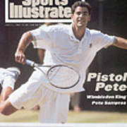 Usa Pete Sampras, 1994 Wimbledon Sports Illustrated Cover Art Print