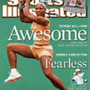 Usa Serena Williams, 2003 State Farm Womens Tennis Classic Sports Illustrated Cover Art Print