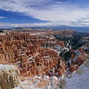 Usa, Utah, Winter Bryce Canyon Art Print
