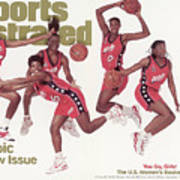 Usa Womens Basketball Team, 1996 Atlanta Olympic Games Sports Illustrated Cover Art Print