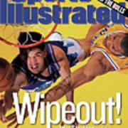Utah Jazz John Stockton, 1998 Nba Western Conference Finals Sports Illustrated Cover Art Print