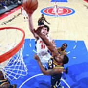 Utah Jazz V Detroit Pistons Art Print