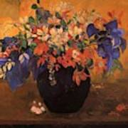 Vase Of Flowers 1896 Art Print