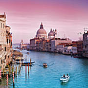Venice Canale Grande Italy Art Print
