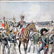 Victor Emmanuel IIi, King Of Italy Art Print