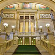 Vienna Opera House, The Main Hall Art Print