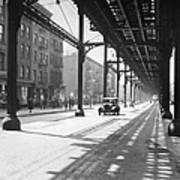 View From 38th St. And Second Ave Art Print