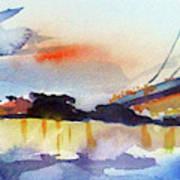 View From Camden Art Print
