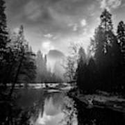 View Of Half Dome II Art Print