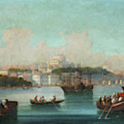 View Of Istanbul - 1 Art Print