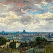 View Of Paris - Digital Remastered Edition Art Print