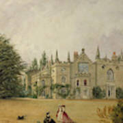 View Of Strawberry Hill Middlesex Art Print