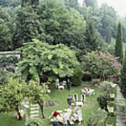 Villa Cipriani Art Print