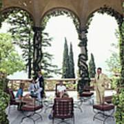 Villa Del Balbianello Art Print