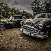 Vintage Cars Goshen Nh Art Print