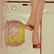 Vintage Laundry Art Print