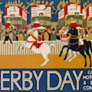 Vintage Poster - Derby Day Art Print