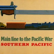 Vintage Poster - Southern Pacific Art Print