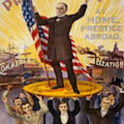 Vintage Poster - William Mckinley Art Print