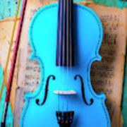 Violin Blues Art Print