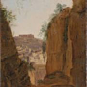 Virgil S Tomb  Naples  Art Print