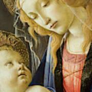 Virgin And Child Renaissance Catholic Art Art Print