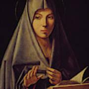 Virgin Annunciate By Messina Art Print